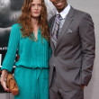 Rebecca Mader and Mechad Brooks — Stock Photo