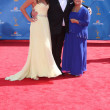 Eric Stonestreet, girlfriend, mom - Stok fotoraf