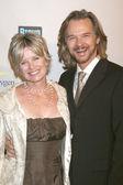 Mary Beth Evans & Stephen Nichols — Stock Photo