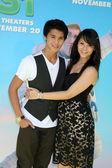 Boo Boo Stewart & sister — Stock Photo