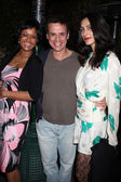Tonya Lee Williams, Christian LeBlanc, & Raya Meddine — Stock Photo