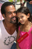 Kristoff St. John, Daughter — Stock Photo
