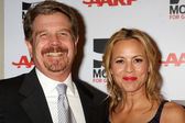 John Wells, Maria Bello — Stock Photo