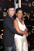 Carlos Bernard & Penny Johnson Jerald — Stock Photo