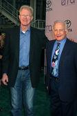 Ed Begley Jr & Buzz Aldrin — Stock Photo