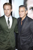 Ryan Gosling, George Clooney — Stock Photo