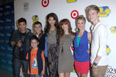 Roshon Fegan, Davis Cleveland, Adam Irigoyen, Zendaya Coleman, Bella Thorne, Caroline Sunshine, Kenton Duty — Stock Photo