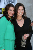 Carrie Latt Wiatt, Sela Ward — Stock Photo