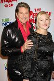 David & Hayley Hasselhoff — Stock Photo