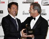 Robert Downey Jr, Mel Gibson — Stock Photo
