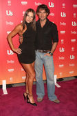 Edyta Sliwinska (L) and husband Alec Mazo — Stock Photo