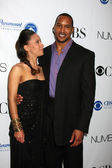 Sophina Brown & Henry Simmons — Stock Photo