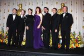 Matthew Broderick, Macauley Culkin, Ally Sheedy, Molly Ringwald, Judd Nelson, Jon Cryer and Anthony Michael Hall — Stock Photo