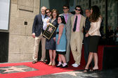 Susan Saint James, her husband & Sons, Family, Ron Meyer, and Maria Shriver — Stock Photo