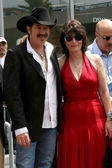 Kix Brooks & Wife — Stockfoto