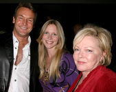 Doug Davidson & Lauralee Bell, and Patty Weaver — Stock Photo