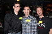Thommy Hutson, Daniel Farrand, and Anthony Masi — Stock Photo