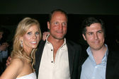 Cheryl Hines, Woody Harrelson, and Chris Parnell — Stock Photo