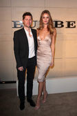 Christopher Bailey and Rosie Huntington-Whiteley — Stock Photo