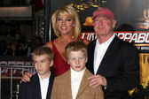 Tony Scott, family — Stock Photo