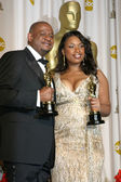Forest Whitaker, Jennifer Hudson — Stock Photo