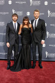 Dave Haywood, Hillary Scott and ,Charles Kelley of Lady Antebell — Stock Photo