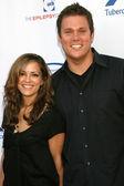 Rebecca Budig & Bob Guiney — Stock Photo
