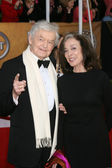 Hal Holbrook and Dixie Carter — Stock Photo