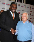 Sweet Lou Dunbar, Tommy Lasorda — Stock Photo