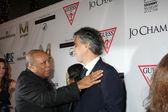 Quincy Jones, Andrea Bocelli — Stock Photo