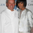 Wolfgang Puck, Wife Gelila Assefa — Stock Photo #13000420