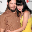Pauley Perrette, husband — Stock Photo