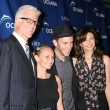 Ted Danson, Kristin Chenoweth, Charlie MacDowell &amp; Mary Steenbergen - Stock Photo