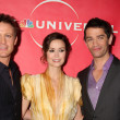 David Lyons, Summer Glau, James Frain — Stock Photo