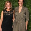 Cat Cora and Wife Jennifer Cora — Stock Photo
