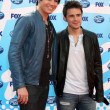 Adam Lambert and Kris Allen — Stock Photo