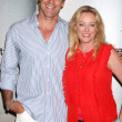 David James Elliott & Virginia Madsen — Stock Photo
