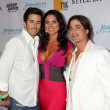 Brandon Beemer, Nadia Bjorlin, Bryan Dattilo - Stock Photo