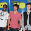 Daniel Curtis Lee, Hutch Dano, & Adam Hicks - Stock Photo