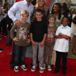 Don Diamont & Family & Friends - 图库照片