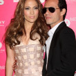 Jennifer Lopez & Marc Anthony — Stock Photo