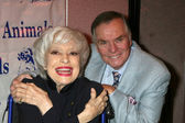 Carol Channing & Peter Marshall — Stock Photo