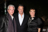 Paul Rauch, Eric Braeden, & Maria Arena Bell — Stock Photo