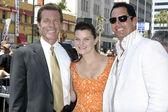 Eric Braeden, Heather Tom, Don Diamont — Stock Photo