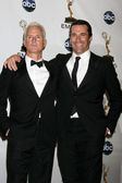 John Slattery, Jon Hamm — Stock Photo