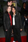 Ruthie Alcaide & girlfriend Stephanie — Stock Photo