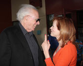 Bruce Dern & Frances Fisher — Stock Photo