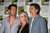 Farrell, Marti Noxon, Chris Sarandon — Stockfoto