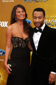 Christy Teigen & John Legend — Stock Photo