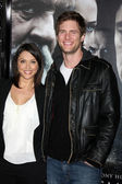 Ryan mcpartlin e sua esposa — Foto Stock